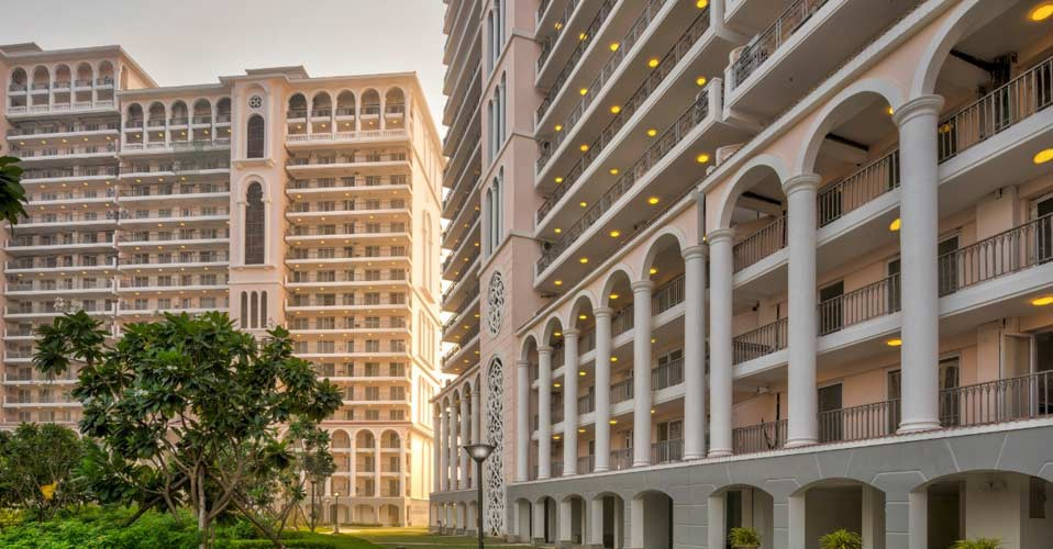 DLF Sky Court Residential Project