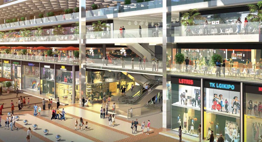 M3M Broadway Commercial Project