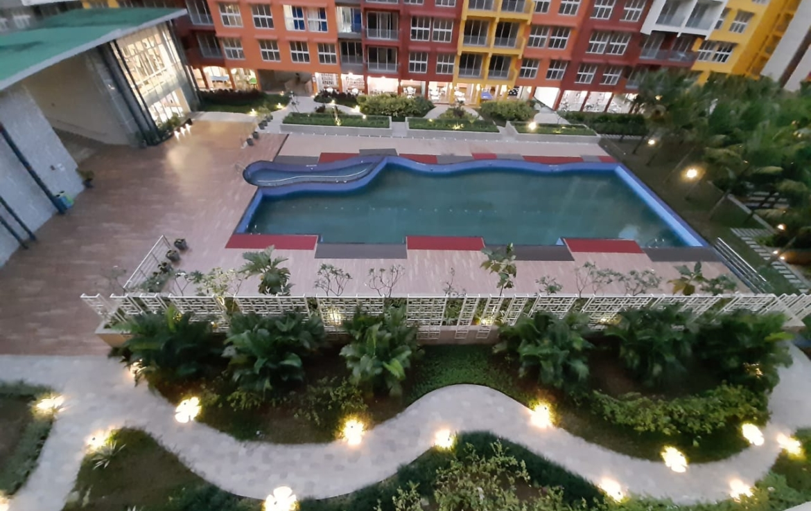 Residential Project Pool View